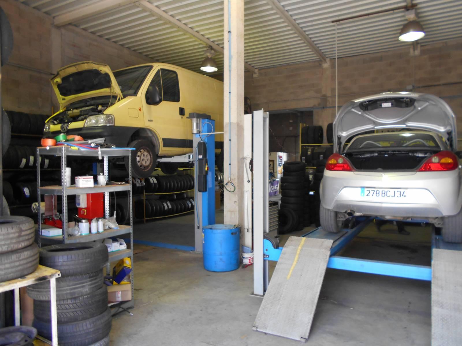 Garage m canique pour r paration auto sur montpellier comptoir du pneu - Garage automobile montpellier ...